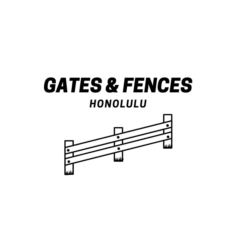 gates and fences honolulu logo